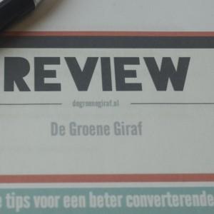 content review website de groene giraf