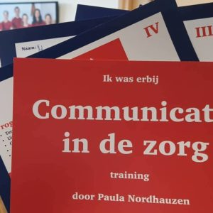 training communicatie in de zorg moeilijke gesprekken